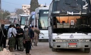 Syria evacuation