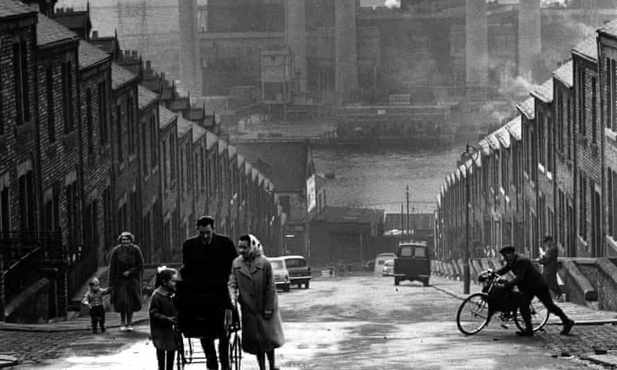 Scottswood Road area, Newcastle, 1963.