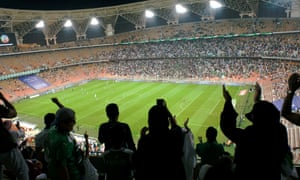 The King Abdullah Sports City stadium in Jeddah will host a four-team Spanish Super Cup in January.