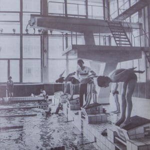 The swimming pool was used in advertising material to attract people to Pripyat in 1985.