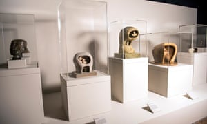 Henry Moore: The Helmet Heads at the Wallace Collection.