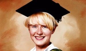 Melanie Hall graduation photo