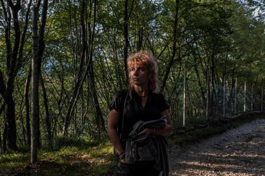 Animal rights activist Ornella Dorigatti believes the bears should be kept free.