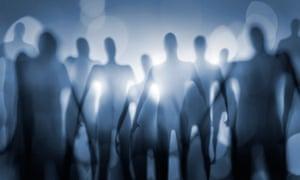 Blurry image of alien-type creatures.