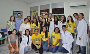 The Pravida team at Walter Cantídio University hospital in Fortaleza, Brazil.