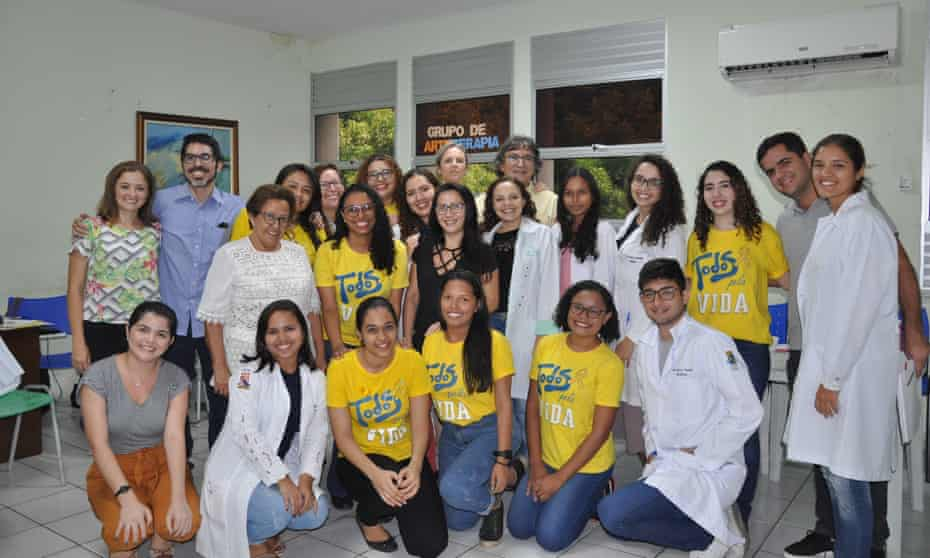 The Pravida team at Walter Cantídio University hospital in Fortaleza, Brazil.