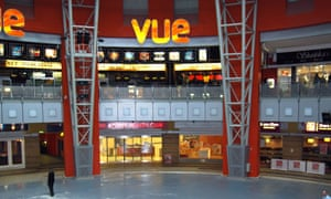 Vue cinema at Star City Entertainment Complex, Birmingham.