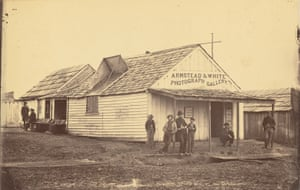 The Armstead & White Photograph Gallery in Corinth, Mississippi, 1861 - 65