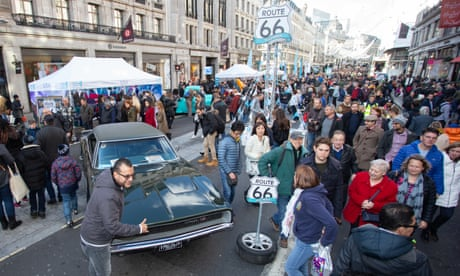 Regent Street Motor Show preview: 'Route 66 comes to the capital'