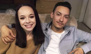 Michela Gregory and her boyfriend, Alex Vega, who also died in the fire.
