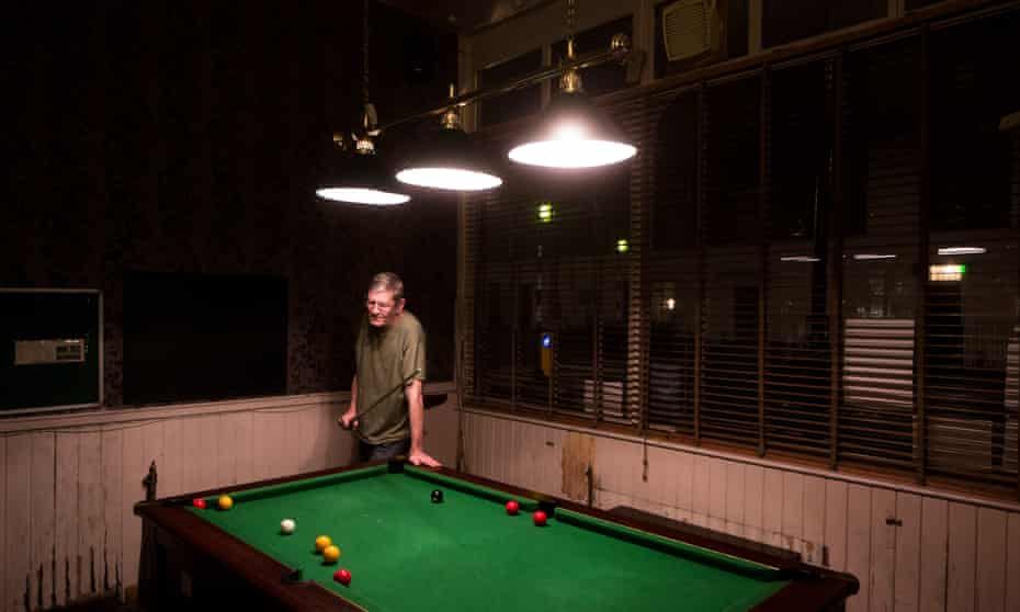 The Golden Lion is a venue for local pool league matches.