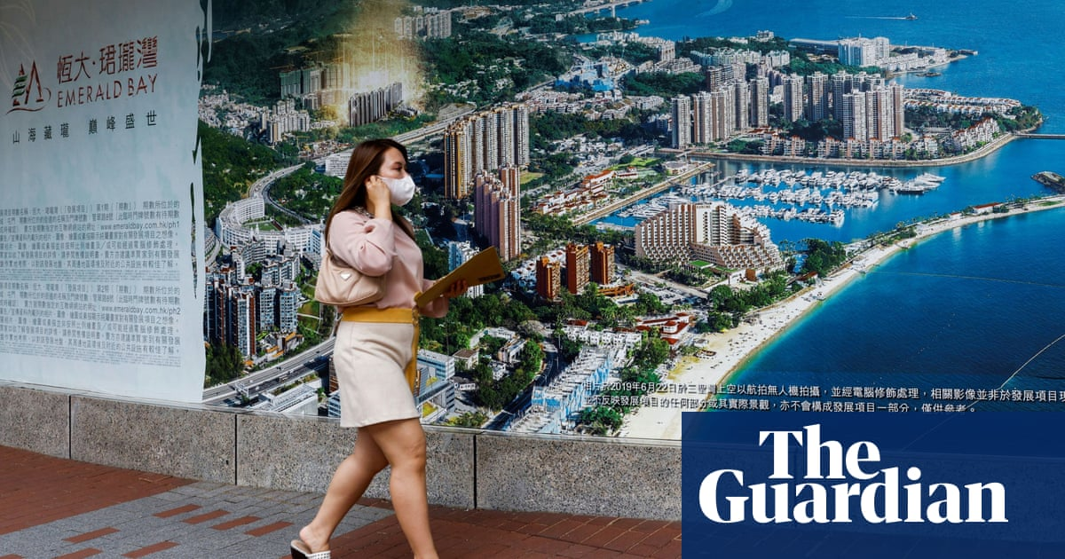 China property market rocked as giant Evergrande struggles to repay $300bn debts