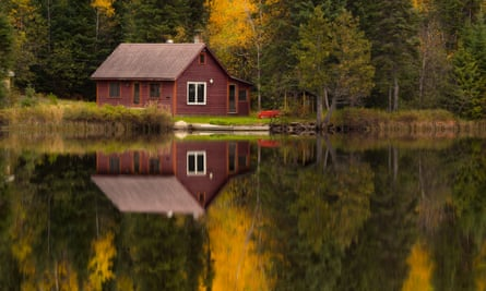 Isolation … a cabin by Clearwater Lake in northern Minnesota.