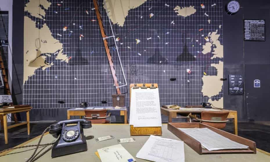 the Operations Room at Western Approaches, Liverpool War Museum.