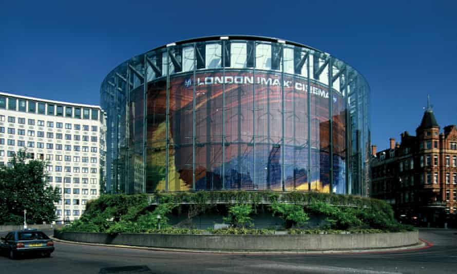 Bryan Avery's design for the London Imax cinema, at Waterloo station (1999), became a genuinely popular new landmark