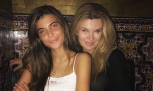 Christina Ford with her famous daughter, Charlotte D'Alessio