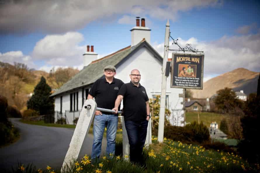 Adam Stephenson and Terry Knipe