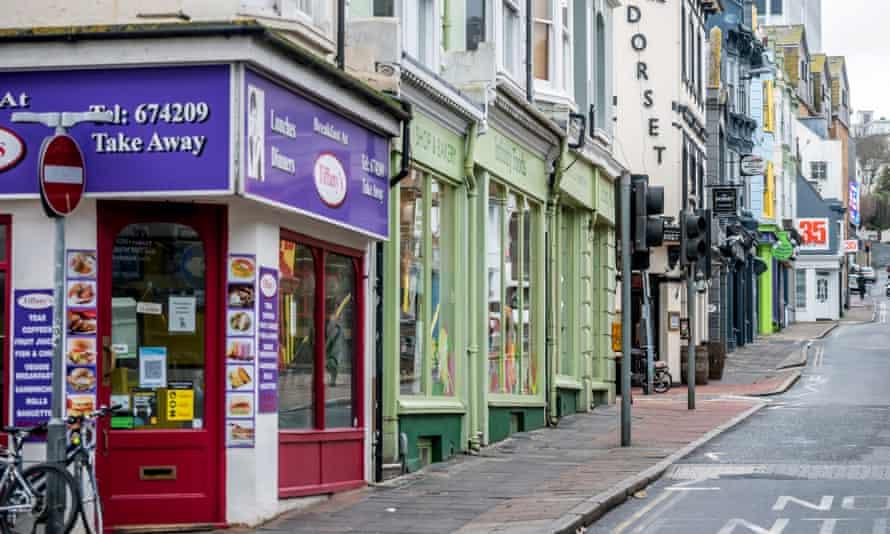 Bohemian: the North Laine are in Brighton.