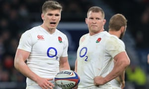 Owen Farrell and Dylan Hartley will share responsibility as co-captains during the autumn internationals.
