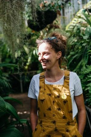 Freya Cohen, Bristol biology master's graduate and community gardener