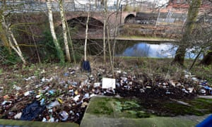The canal bank in Northbrook Street, Birmingham, has been identified as one of the worst 'grotspots' in British cities and will be cleaned by volunteers as part of the Clean for the Queen campaign.