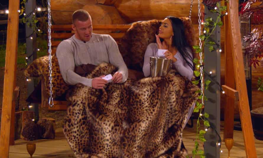 Tom and Olivia get to know each other in The Cabins.
