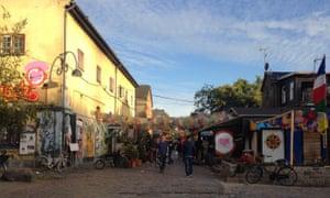 Christiania's Pusher Street.