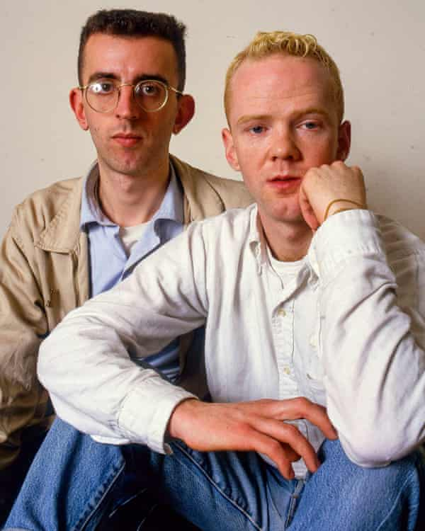 Richard Coles and Jimmy Somerville in 1985.