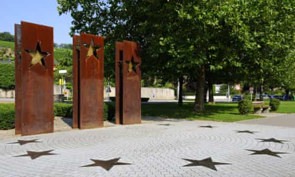 A monument to the Schengen agreement.