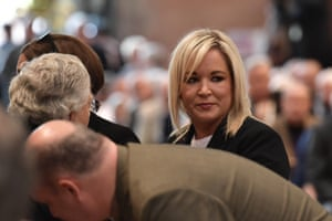 Michelle O'Neill, the vice-president of Sinn Féin.