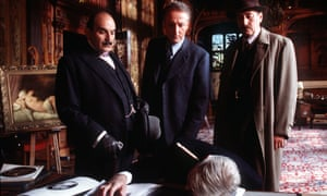 A scene from Lord Edgware Dies