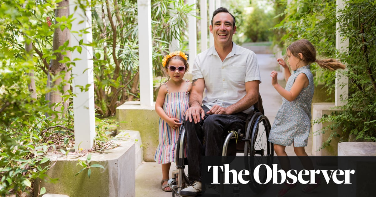 I'm a father in a wheelchair – which comes with its own unique fears
