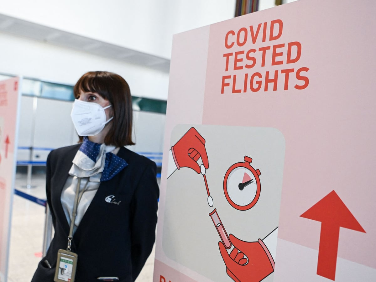 Airlines Warn The Cost Of Covid Tests Will Stop People Going Abroad Airline Industry The Guardian