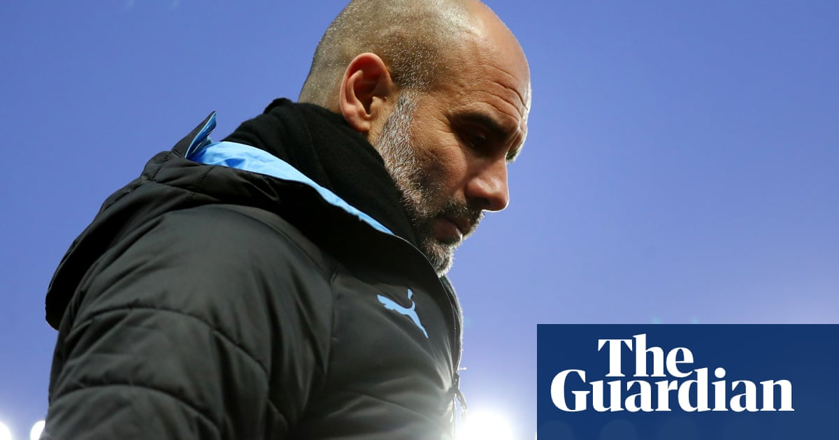 Pep Guardiola: 'We're so far away, it's not interesting to look at Liverpool'