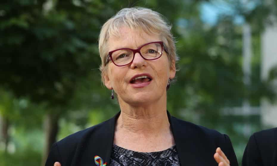 Greens senator Janet Rice brought the motion to the Senate calling on the government to recognise the risk it has placed on two gay Saudi asylum seekers by keeping them in detention.