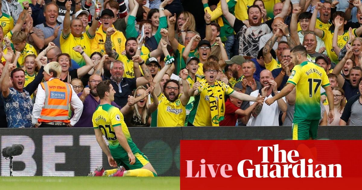 Norwich City v Manchester City: Premier League – live!