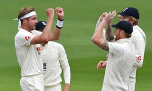 Stuart Broad said his England teammate Ben Stokes was an encouraging influence after the 34-year-old bowler was dropped before the first Test against West Indies.