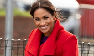 The Duchess of Sussex, who anonymous sources are briefing is 'the type of person who's best friends with her stylist'.