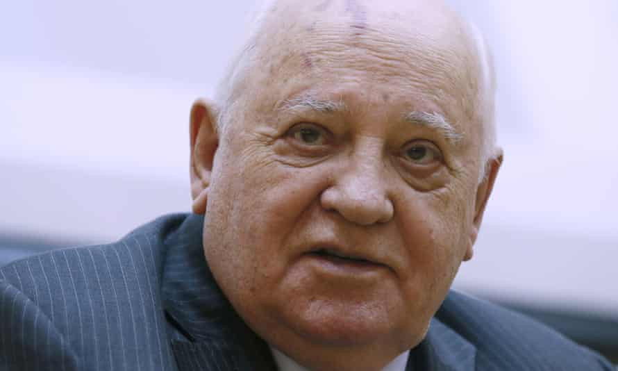 Mikhail Gorbachev oversaw the collapse of the Soviet Union in 1991.