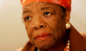Maya Angelou: celebrated US author and civil rights activist.