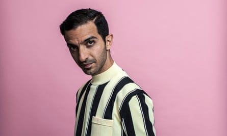 Imran Amed shot for Observer Magazine at his offices
