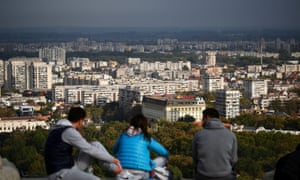 Bulgaria has seen a huge dip in its population over the past 20 years, but Plovdiv is bucking the trend.