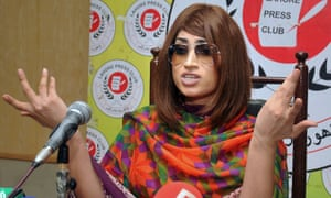 Qandeel Baloch stirred controversy by posting pictures online of herself with a prominent Muslim cleric.