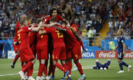 Belgium knock Japan out of World Cup with late goal in 3-2 last-16 win