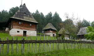 Sirogojno open-air museum Serbia