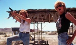 Desert storm … Thelma & Louise.