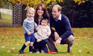Duke and Duchess of Cambridge with children
