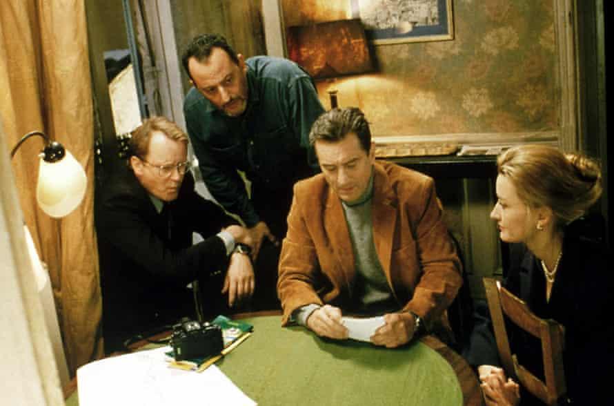 Stellan Skarsgård, Jean Reno, Robert De Niro and Natascha McElhone in Ronin.