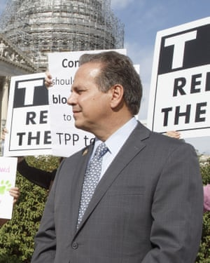 Congressman David Cicilline, speaking at a news conference on the Trans-Pacific Partnership in October 2015