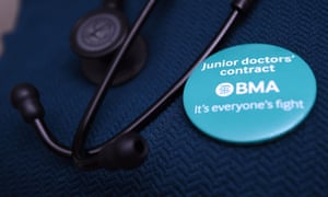 BMA junior doctors badge